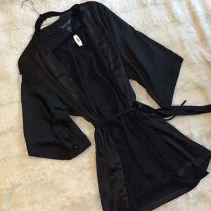 Victoria's Secret black robe. With tag